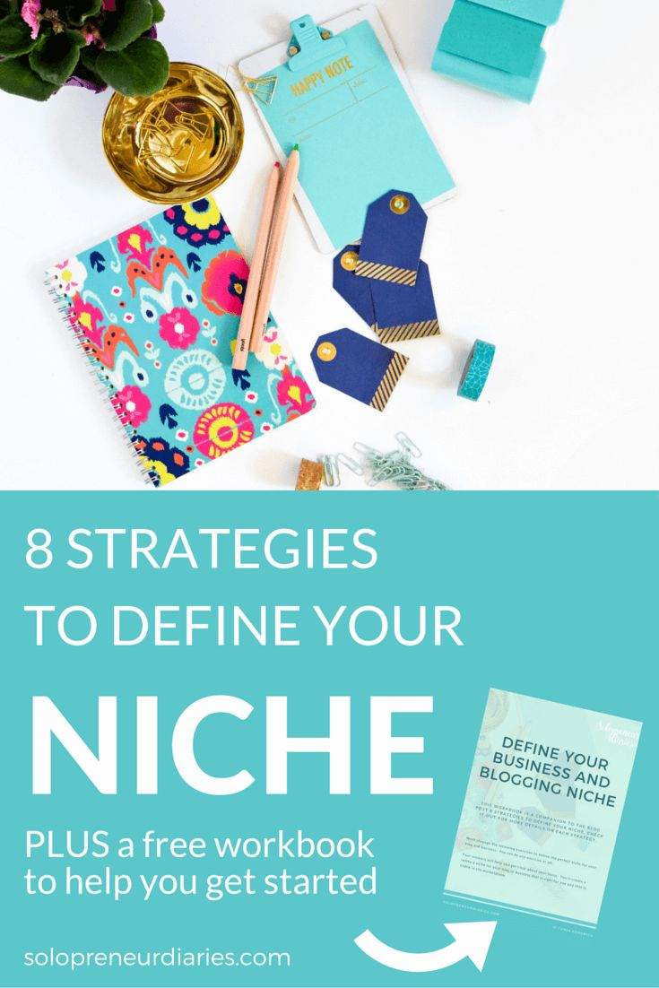 An important step in building a successful blog or business is finding your focus. Click through for eight actionable strategies to define your niche.
