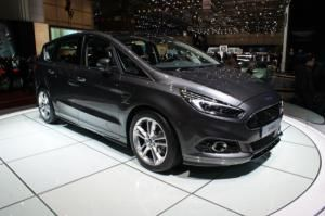 Ford S-MAX Titanium Sport with Intelligent All-Wheel Drive system live at 2015 Geneva Motor Show