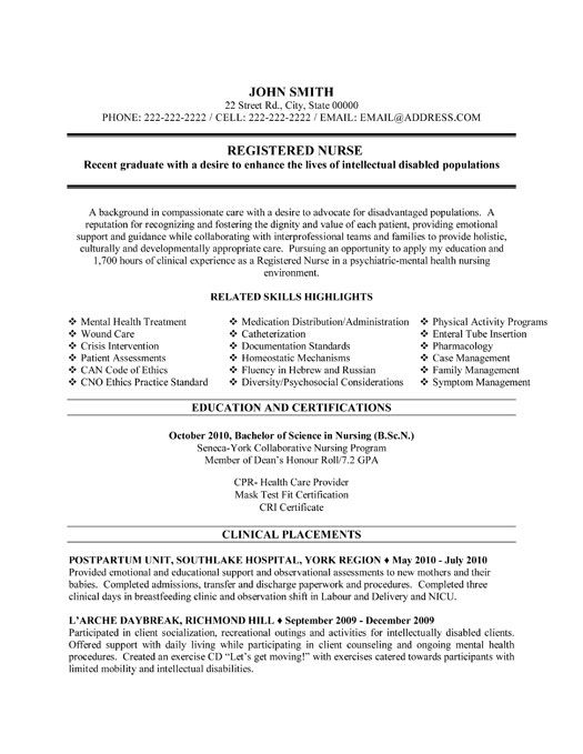 Free Rn Resume Template Best 25 Nursing Resume Ideas On Pinterest