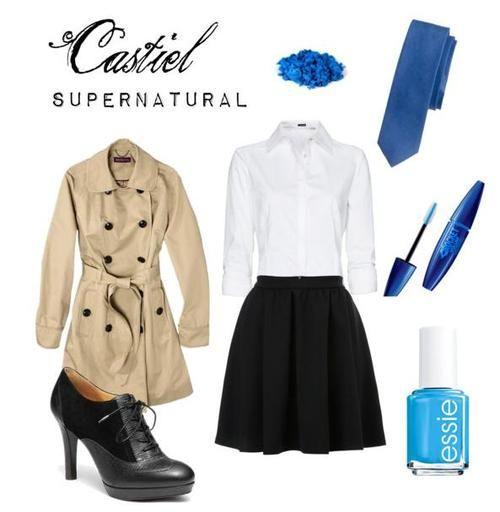 i dont normally pin outfits, but i do when it is Castiel and i have the jacket!