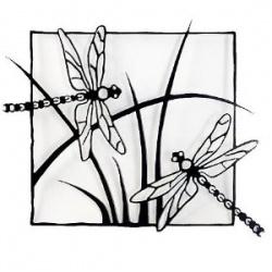 Стрекоза дизайн  _  Dragonfly design