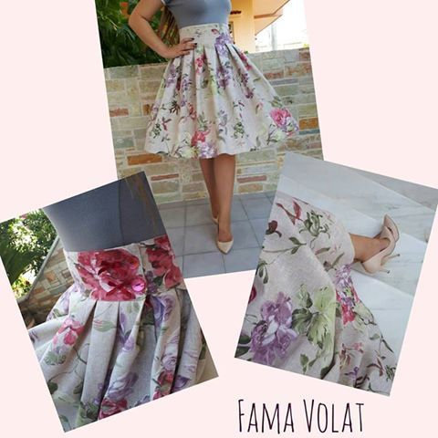 Flower pattern ***NEW COLLECTION*** Fama Volat