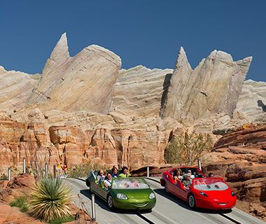 Cars Land, a 12-acre real-life rendition of Radiator Springs from the films that pay homage to Route 66 and retro-cars culture, remains a big draw at Disney's California Adventure.
