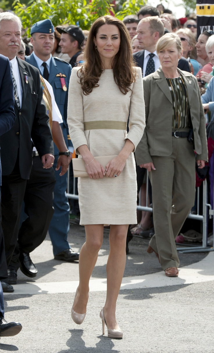 Duchess of Cambridge L.K. Bennett Sledge Pumps