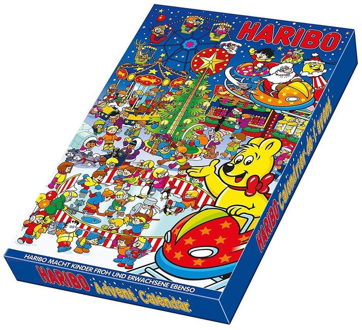 Haribo Advent Calendar Count Down to Christmas Mixed Flavour Chewy Sweets 300g