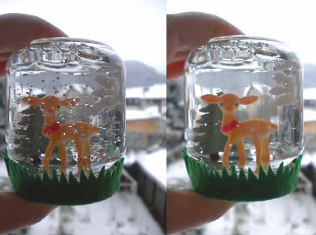 Tuto Déco - La boule à neige faite maison
