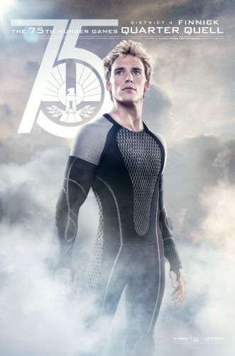 The Hunger Games Catching Fire - The Quarter Quell (And hello Finnick! You weren't what I pictured, but still...)