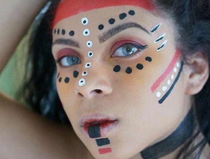 maquillage indien garcon facile. Black Bedroom Furniture Sets. Home Design Ideas