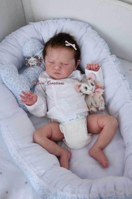 Boneca Reborn Scarlett Kit De Bonnie Brown