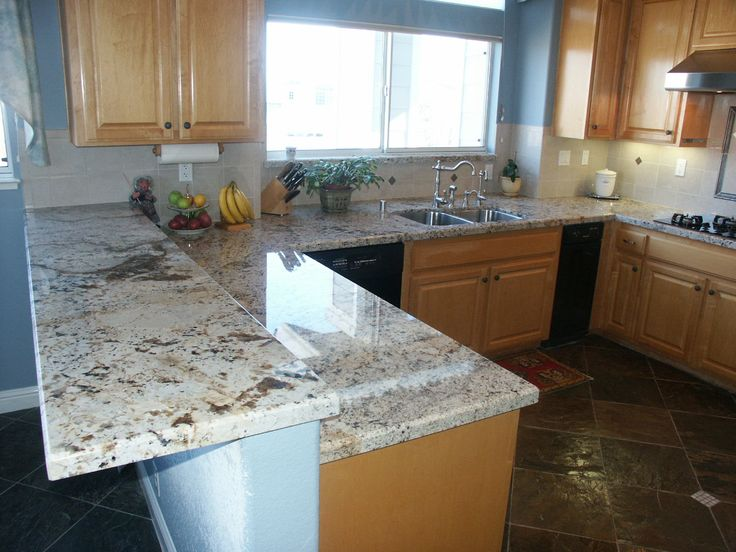 might be Ok with the majority being on a white island? Delicatus Granite With Backsplash Delicatus granite countertops
