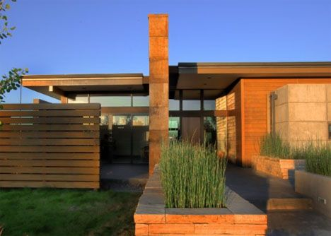modern prairie- my architect brother in law once did some drawings for a house for us that we never built :( that looked EXACTLY like this...