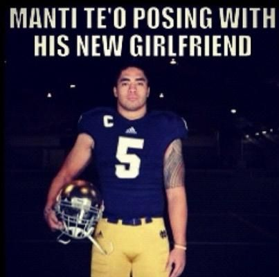 17 best images about college football insults on pinterest for Manti te o tattoo