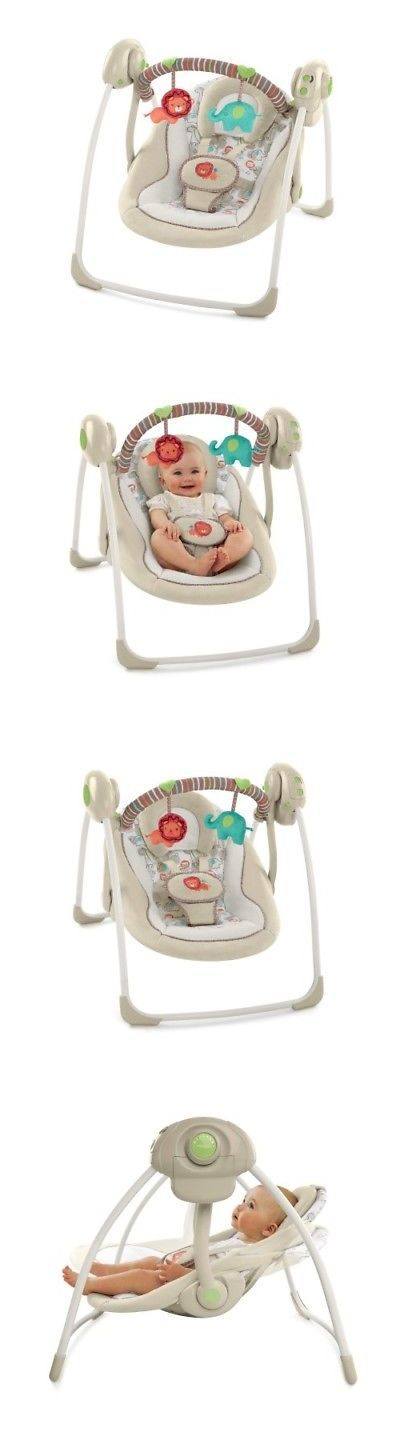 Baby Swings 2990: Baby Swing Seat Infant Toddler Rocker Chair Little Portable Electric Swing -> BUY IT NOW ONLY: $67.13 on eBay!