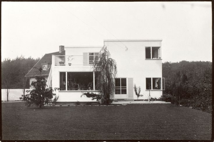 Arne Jacobsens eget hus i Charlottenlund, Gotfred Rodes Vej, Realdania By & Byg, arnes hus