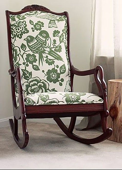 Rocking Chairs Are Very Comfortable To Utilize When You Are Tired After A Day Of Activities R Antique Rocking Chairs Upholstered Rocking Chairs Rocking Chair