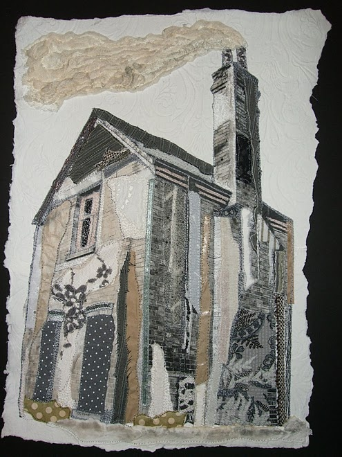 Steph Littlechild, textile art.