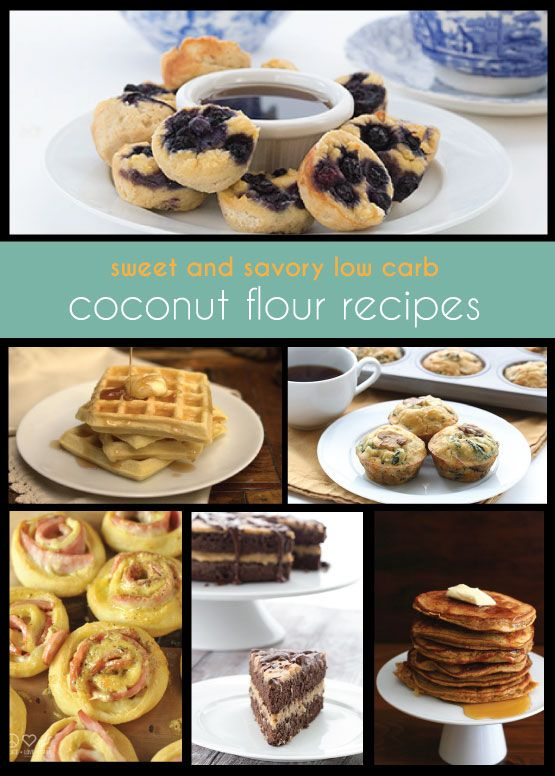 All the best low carb and keto coconut flour recipes from your favourite bloggers. From breakfast to dinner to dessert, it's all here! Grain-free Keto Banting THM recipes.  via @dreamaboutfood