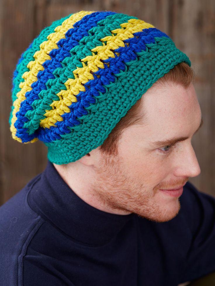 Mejores 92 imágenes de Crocheted Hats en Pinterest | Sombreros de ...