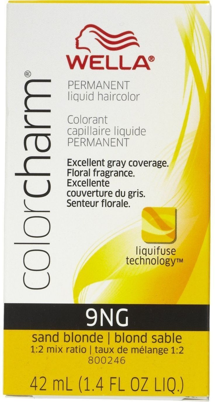 Wella Color Charm Liquid Haircolor 9NG Sand Blonde, 2 oz (Pack of 12) ** More info could be found at the image url.
