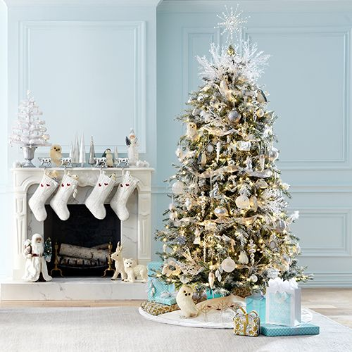 Decorate The Tree The Mantel And Gifts With