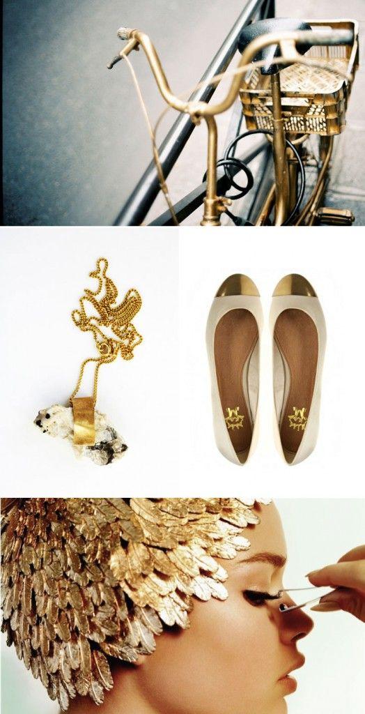 Gold, gold, gold...