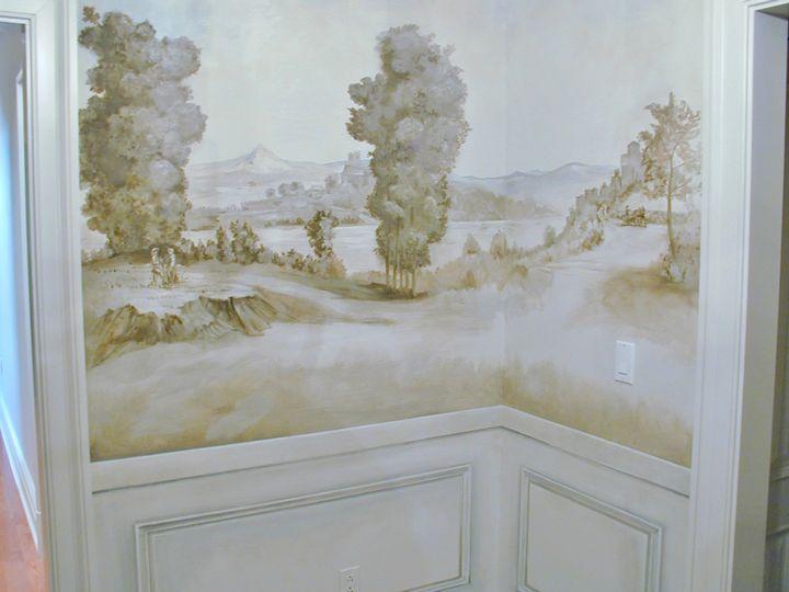 Grisaille-Art-Wallpaper-Murals-Screens...{part I} - laurel home