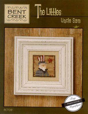 Littles - Uncle Sam - Cross Stitch Pattern