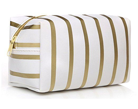 6b219de8a023 HOYOFO Makeup Bag Cosmetic Pouch for Women Girls Handbag Travel ...