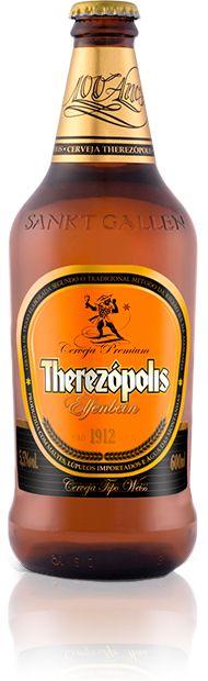 Cerveja Therezopolis Elfenbein , estilo German Weizen, produzida por Cervejaria Sankt Gallen, Brasil. 5.5% ABV de álcool.