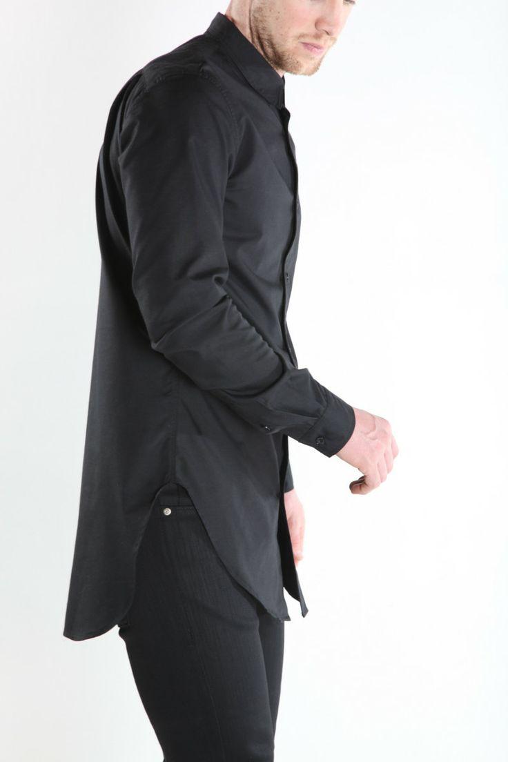 Extra long dress shirts for men