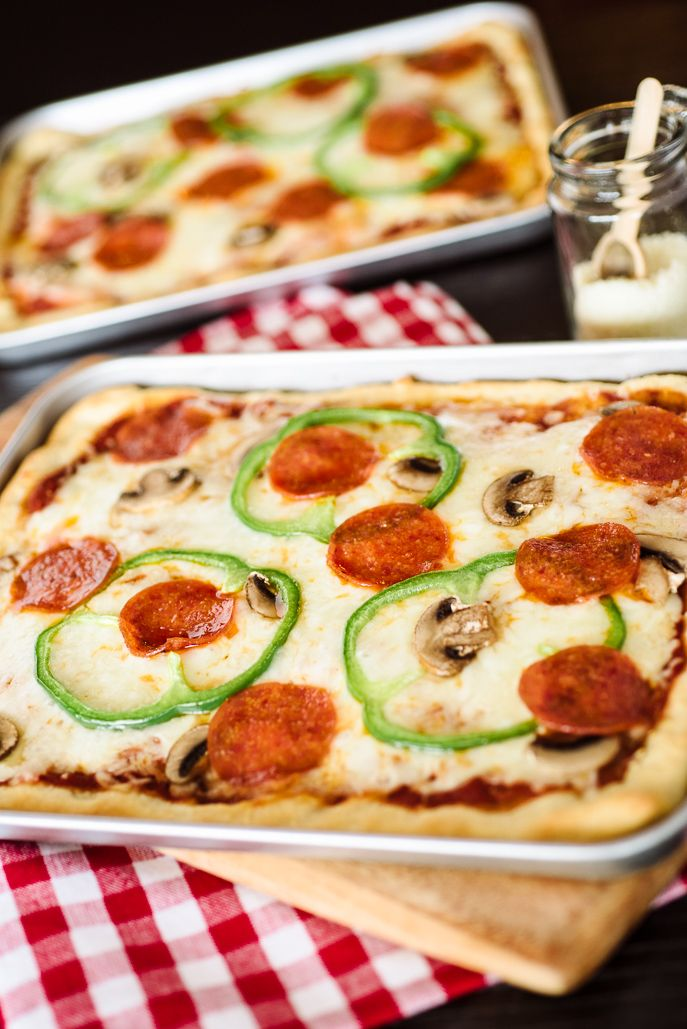 Quick & Easy Toaster Oven Pan Pizza
