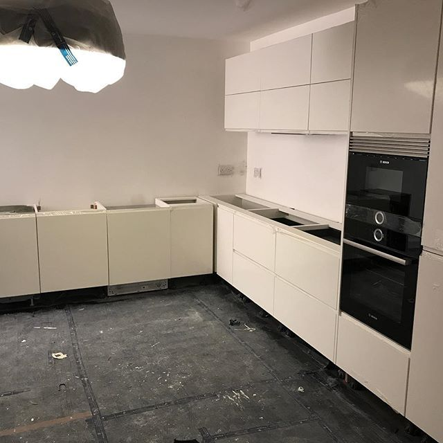 Another Akiva kitchen installed on our North London Basement project! Just waiting for the worktops to be installed now  #newkitchen #kitchen #interiordesign #kitchendesign #kitchenremodel #newhome #home #homedecor #kitchenlife #realestate #renovation #remodel #myhome #kitchendecor #interior #instahome #builders #design #building #newbathroom #repost #bedroom #kitchenideas #northlondon #kitcheninspiration #mortgage #dreamhome #kitchengoals #bathrooms #interiors