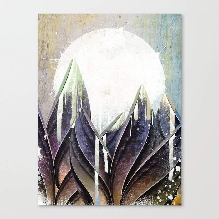 Buy My magical beans garden Canvas Print by happymelvin. Worldwide shipping available at Society6.com. Just one of millions of high quality products available.