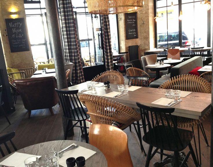 dco bistrot parisien latest deco chambre bleu et gris ides dco cuisine bistrot meubles de mtier. Black Bedroom Furniture Sets. Home Design Ideas