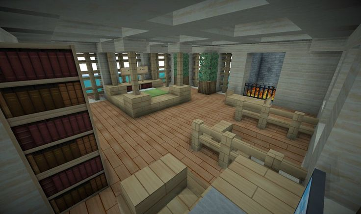 Minecraft interior idea Interior design is hard and the people I usually follow don't consider it important. Good to see this!