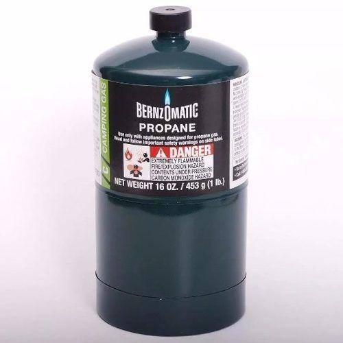 Cilindro/pipeta/tanque/bombona Gas Propano Bernzomatic 465g - $ 31.000