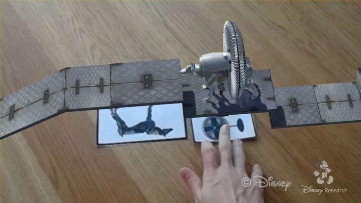 2017 Disney Research ARの仮想キャラクタを現実空間に沿って相互作用させる提案