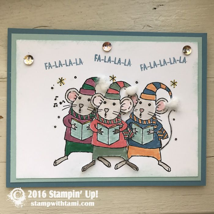 Merry Mice Stamp Set #142145