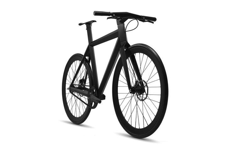 Stealthad cykel i kolfiber - Inspirerad av Lockheed F-117 Nighthawk | Tjock / Garaget