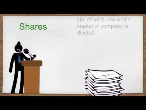 Difference between Stocks, Shares and Equity