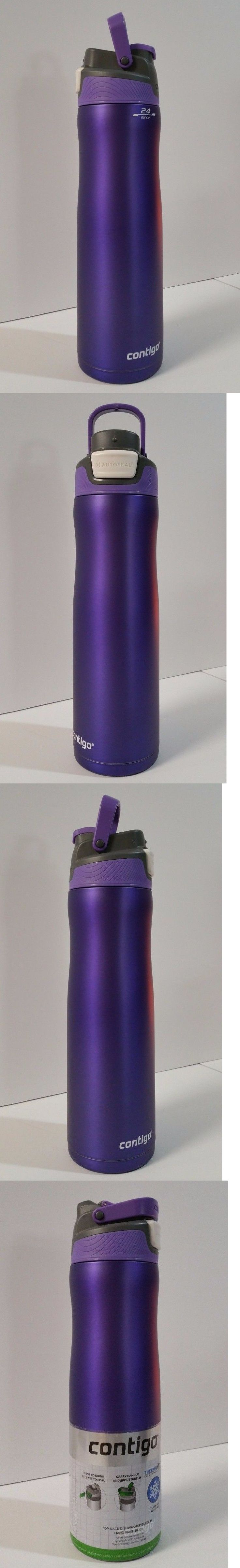 Drink Containers and Thermoses 177006: Contigo Autoseal Chill 24Oz Stainless Water Bottle Cold For 28 Hrs Grapevine -> BUY IT NOW ONLY: $32.5 on eBay!
