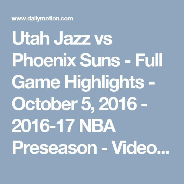James Harden Vs Jazz: Utah Jazz Vs Phoenix Suns