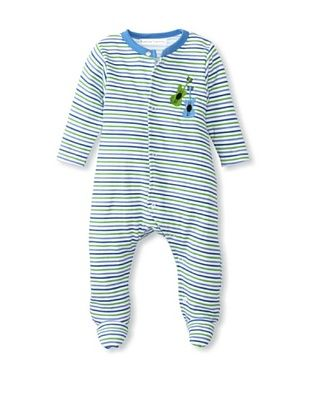 50% OFF Rumble Tumble Baby Guitar Longsleeve Coverall (Blue)