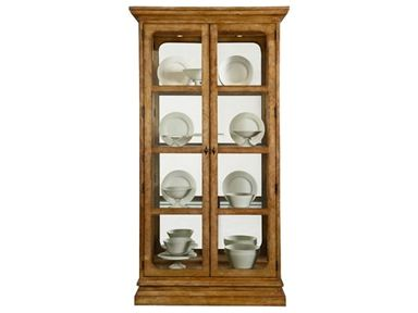 Shop For Bernhardt China Curio 328 356 And Other Dining Room Cabinets At