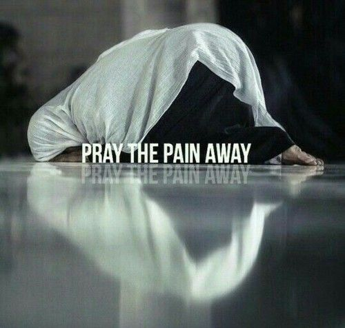 Feeling hurt, numb or angry? Make wudhu and pray until it feels better!   Allah heals! ♡