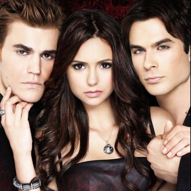 Stefan, Elena, Damon