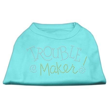F,Trouble Maker Rhinestone Shirts Aqua M (12): Bid: 12,98€ (£11.38) Buynow Price 12,98€ (£11.38) Remaining Listing Closed A poly/cotton…