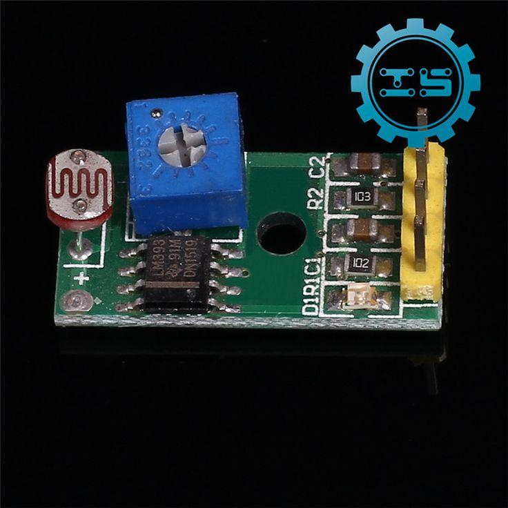 Photoresistor Sensor Module 4-Pin Light Sensor Module 3.3-5V for Arduino Light Detection Sensor Photo Resistor Sensor #Affiliate