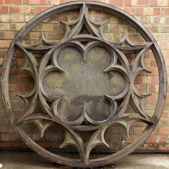 Gothic Window Grill A Cast Iron