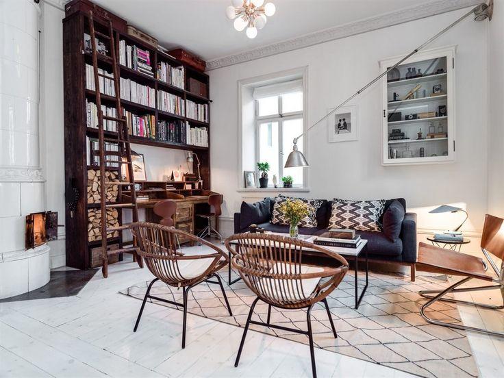 soffa inbyggd bokhylla - Sök på Google